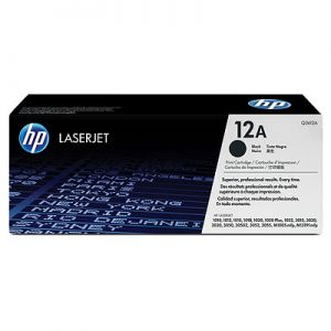 HP LaserJet 1010/12/15, 1020/22 & 3015/20/30 Ultraprecise Print Cartridge, black (up to 2,000 pages)